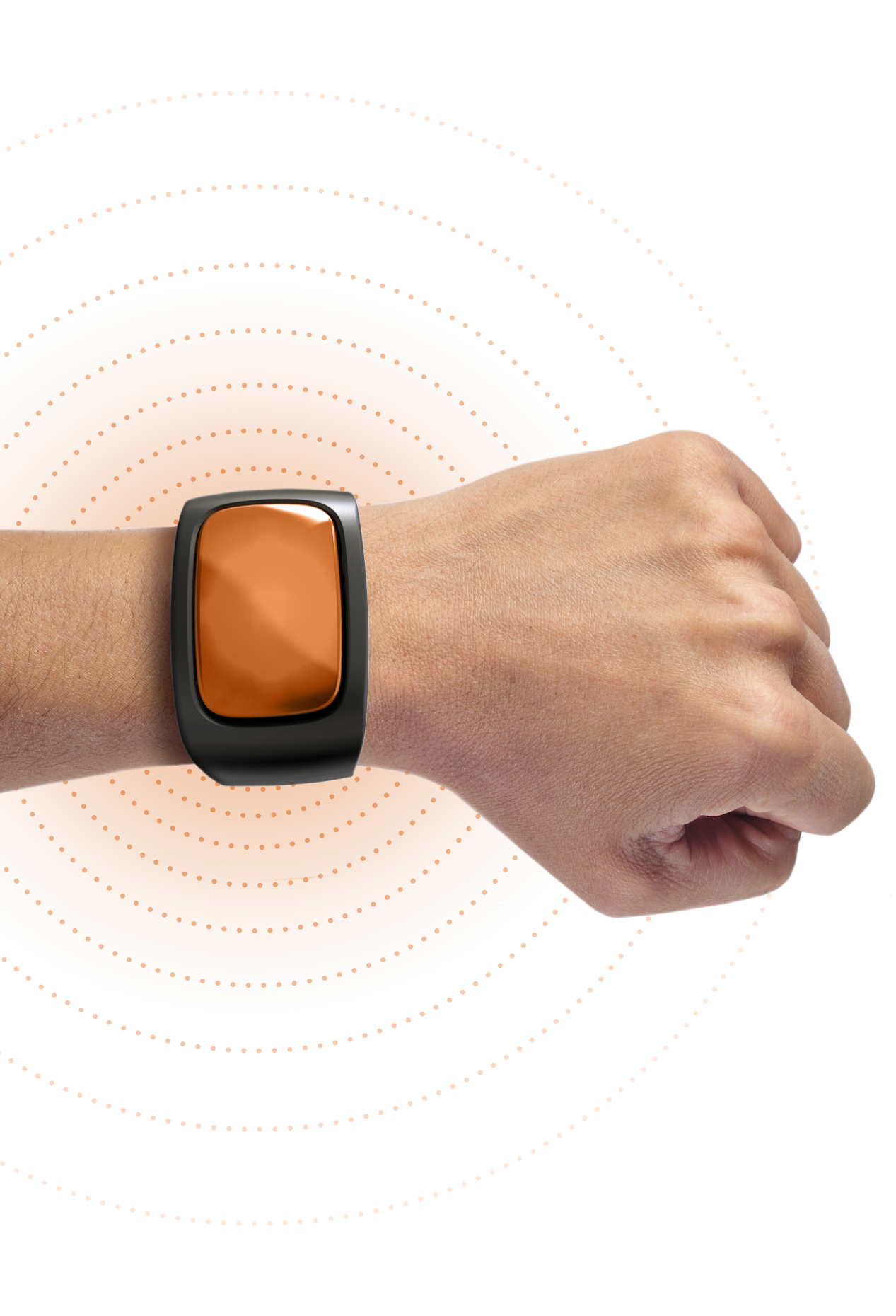 MPX wearable on a arm